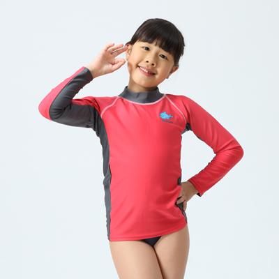 【≡MARIUM≡】兒童半身水母衣─粉紅色/海豚(MAR-2810)