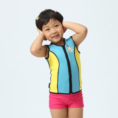 【≡MARIUM≡】兒童防寒背心─淺藍(MAR-2823)
