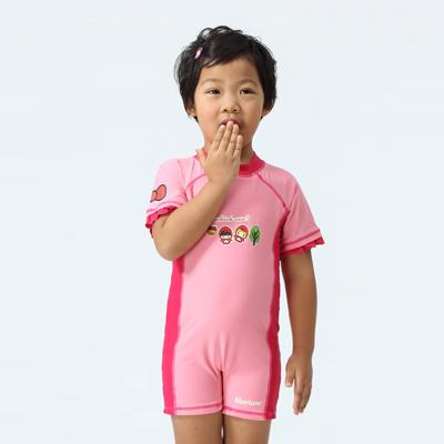 【≡MARIUM≡ 】兒童連身短袖水母衣(MAR-2825)