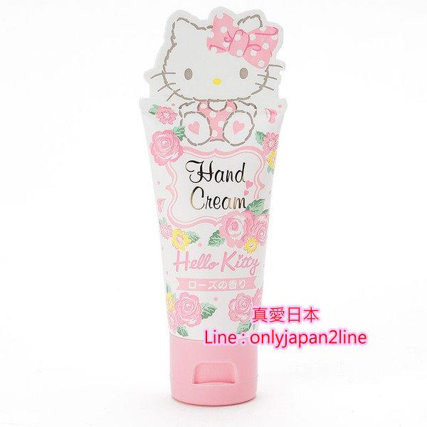 【真愛日本】16093000006  造型香味護手霜-KT玫瑰紅    三麗鷗 Hello Kitty 凱蒂貓 乳液 手部保養 滋潤
