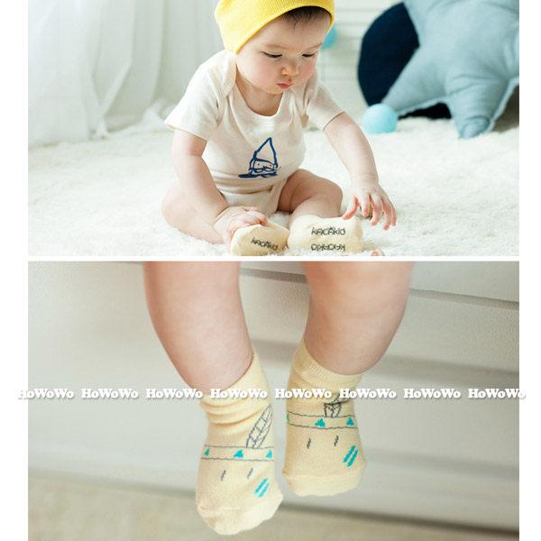童襪 寶寶襪 印地安短襪 嬰兒襪 防滑襪 0-4歲 CA1745