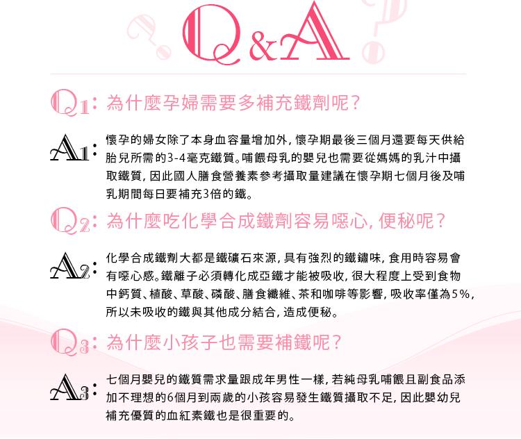 關於鐵質的Q&A