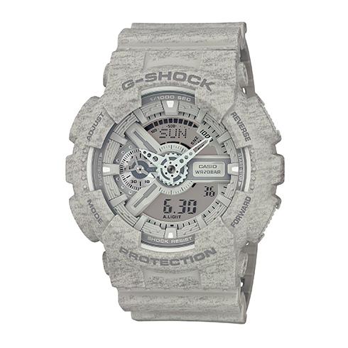 CASIO G-SHOCK GA-110HT-8A石灰紋流行腕錶/51mm