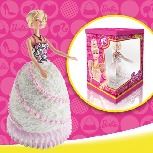 【獨家授權】Barbie芭比娃娃造型蛋糕