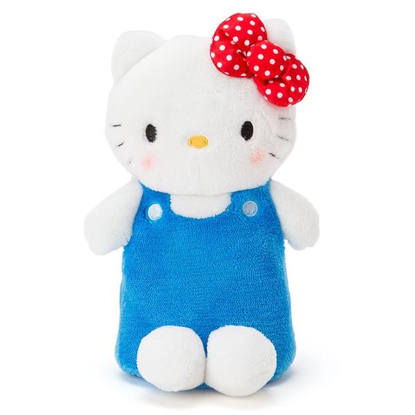【真愛日本】16031100005可立座絨毛筆袋化妝包-KT   三麗鷗 Hello Kitty 凱蒂貓   鉛筆盒 鉛筆袋 文具用品 收納
