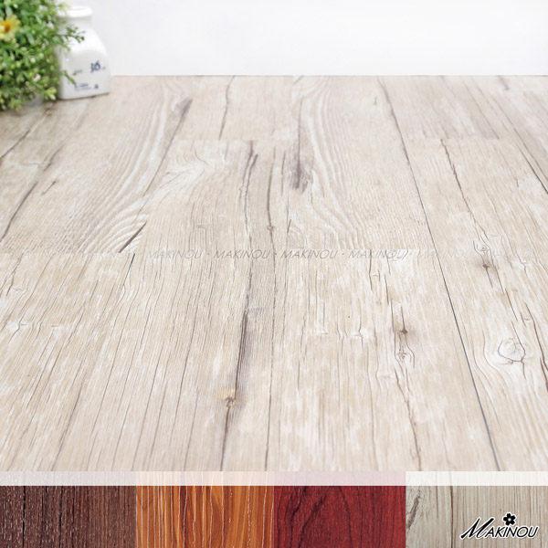 組裝地板 日本MAKINOU 18入白橡木色-和風自粘式耐磨塑膠地磚10x60cm 日本牧野 拼接地墊 DIY 腳踏墊 MAKINO