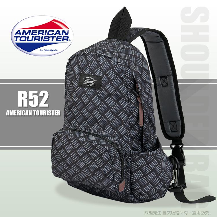 《熊熊先生》新秀麗Samsonite美國旅行者 輕巧 MOD 斜肩包 休閒側背包 單肩包 R52