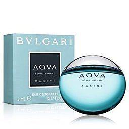 香水1986☆  BVLGARI AQVA Marine 寶格麗活力海洋能量男性淡香水5ml