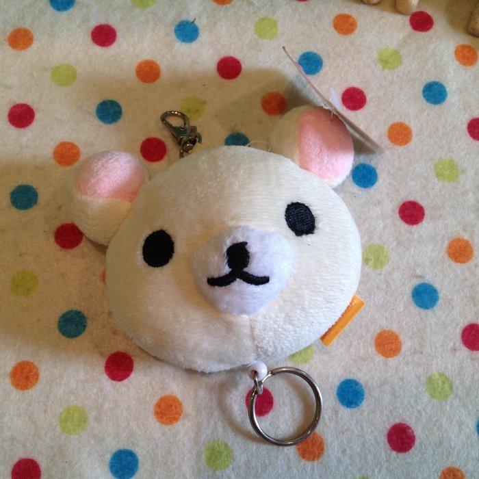 =優生活=【現貨出清】日本拉拉熊 懶懶熊 懶妹超大顆頭型自動伸縮鑰匙圈 鑰匙包 鑰匙扣 吊飾