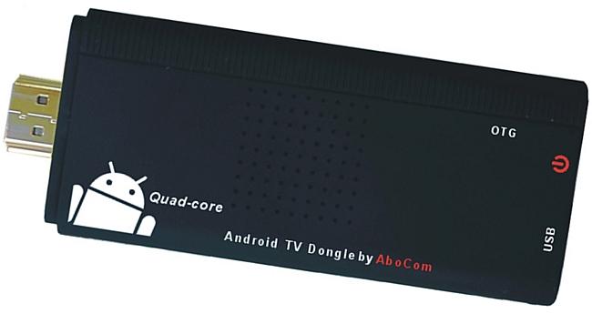 Abocom友旺 A18 四核心mini PC智慧電視棒Android TV Dongle SP-15TVD  **免運費**