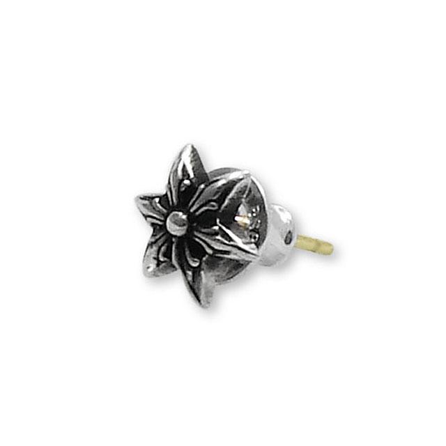 【Chrome Hearts】六芒星造型純銀耳環 Cut out star stud (CHE-023)