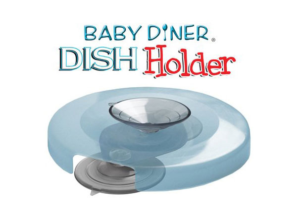 美國【Baby Diner】Dish Holder嬰兒用餐吸盤架