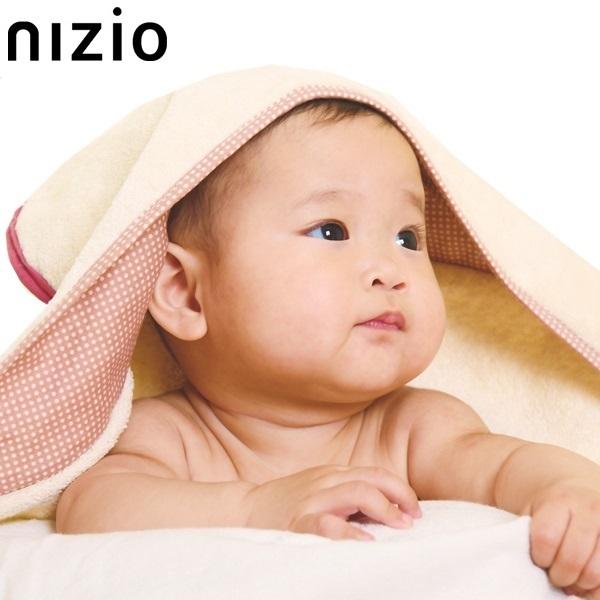 nizio多功能成長型浴巾(紅)