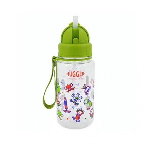 英國【Hugger】兒童水杯(綠怪獸)