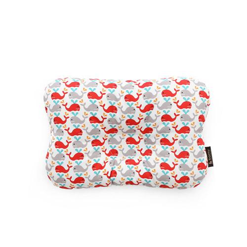 韓國【 Borny 】 3D透氣蜂巢塑型嬰兒枕(0~6個月適用)(小海豚)