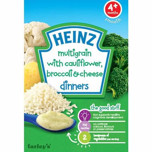 美國【亨氏Heinz】花椰菜起司米麥精(125g)
