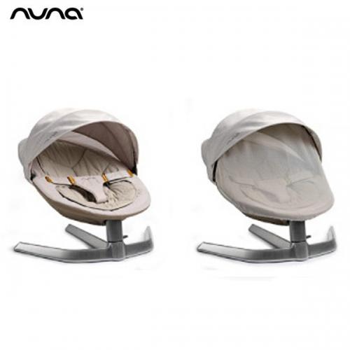 荷蘭【Nuna】Leaf 搖搖椅蚊帳(米白)