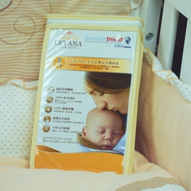 台灣【LEVANA】 周邊商品 - 全方位嬰兒守護床包