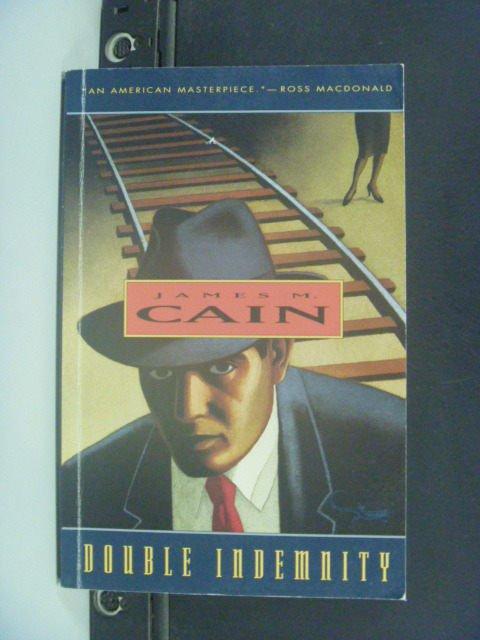 【書寶二手書T8/原文小說_JFM】Double Indemnity_Cain, James M.