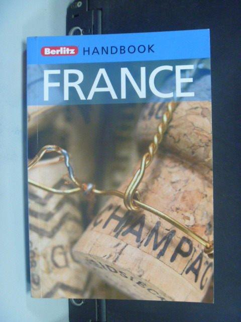 【書寶二手書T2/旅遊_JLK】Berlitz Handbook France_Rider, Nick