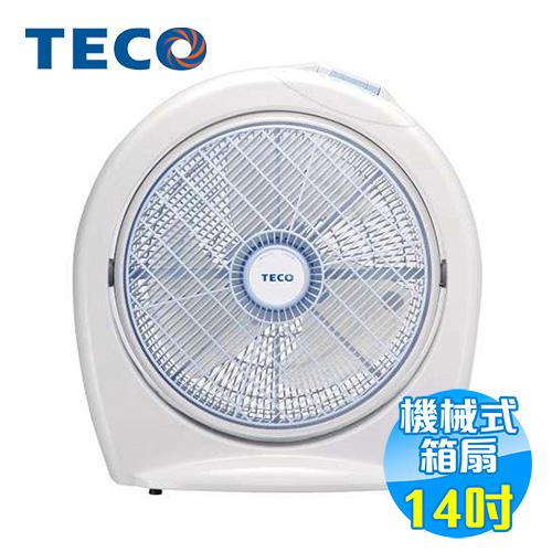 東元 TECO 14吋電風扇 XA1410AB