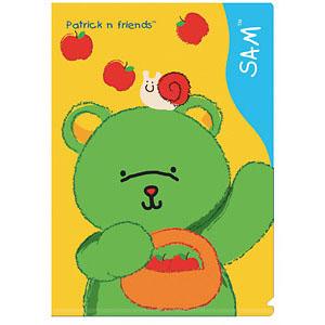 【K's Kids】L型檔案夾 (山姆熊)