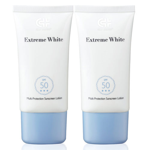 【效期出清】GLY DERM果蕾 極白光勻亮高防護水潤防曬乳SPF50+++ 40ml