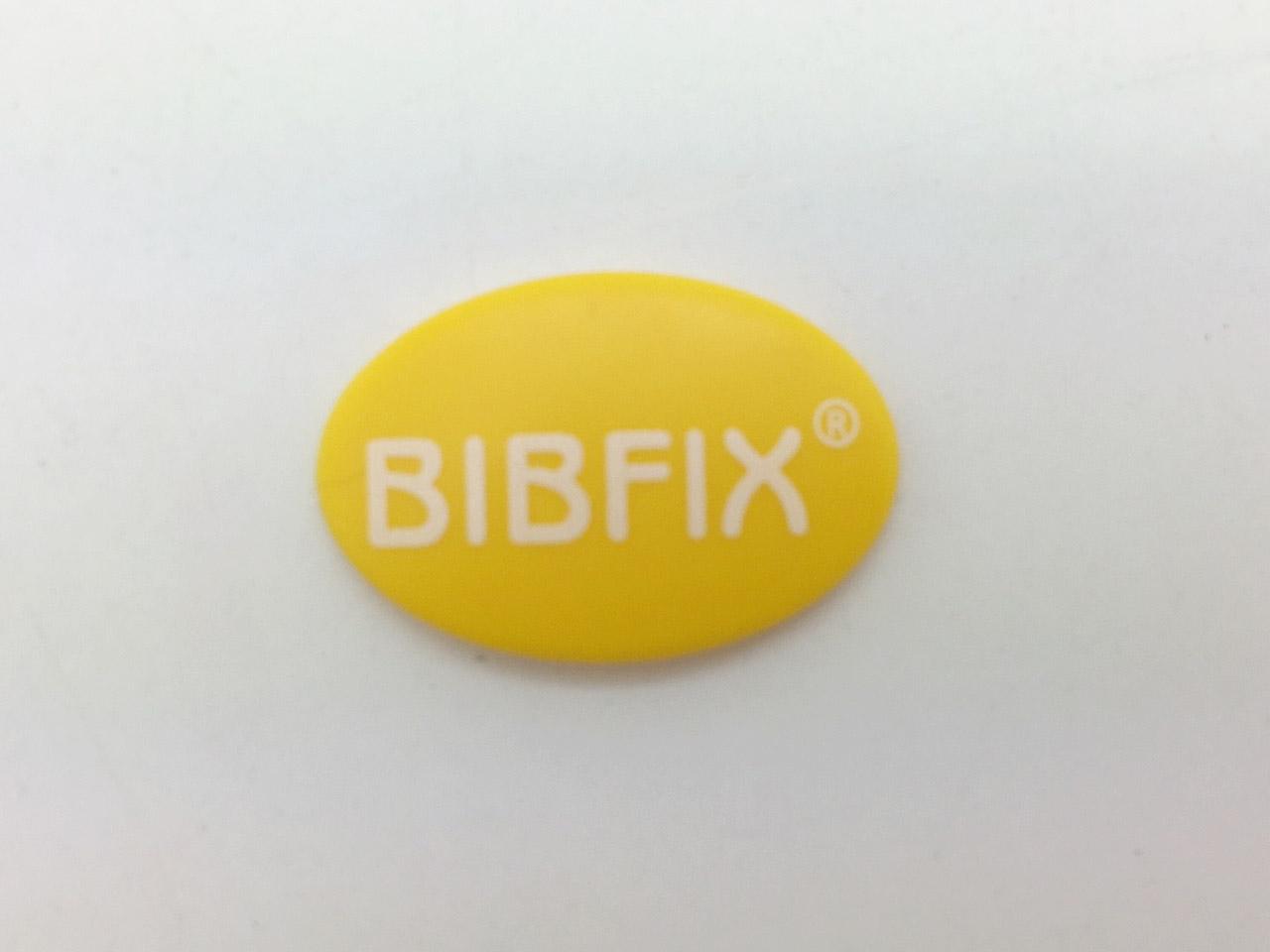 Bibfix號碼布塑膠扣 (黃色)