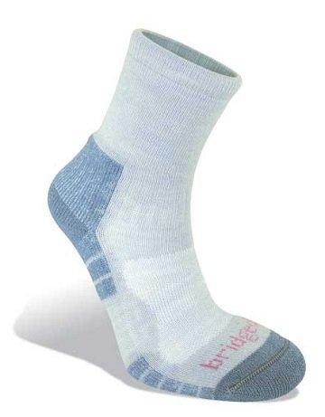 《台南悠活運動家》 BRIDGEDALE 英國 TRAIL LIGHT WOMEN'S 山徑 薄中統羊毛襪 608