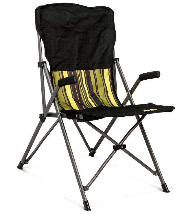 《台南悠活運動家》 FREEDOM CAMPING 紐西蘭 STEDDY EDDY 摺疊收扶手椅-高背椅 0100906