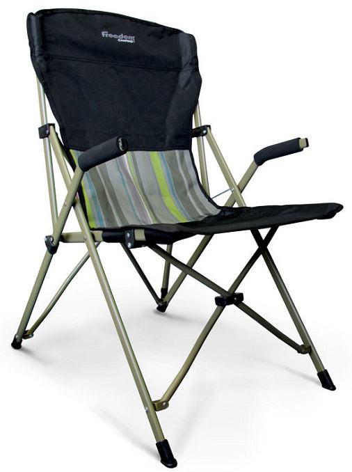 《台南悠活運動家》 FREEDOM CAMPING 紐西蘭 Steady Eddy 高背摺收扶手椅 100906