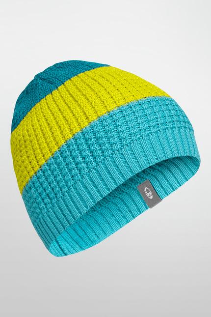 《台南悠活運動家》 ICEBREAKER 紐西蘭 Oasis Beanie 條紋針織帽 101250