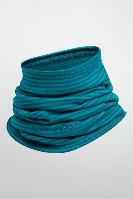 《台南悠活運動家》 ICEBREAKER 紐西蘭 AC200 條紋保暖圍脖 101523