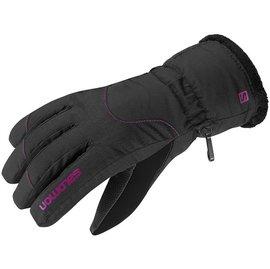 《台南悠活運動家》 SALOMON 法國 女 Force GTX防水保暖手套 黑 352874