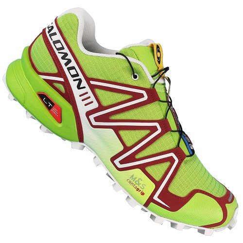 《台南悠活運動家》 SALOMON 法國 SPEEDCROSS 3 男款 戶外健行鞋 356747