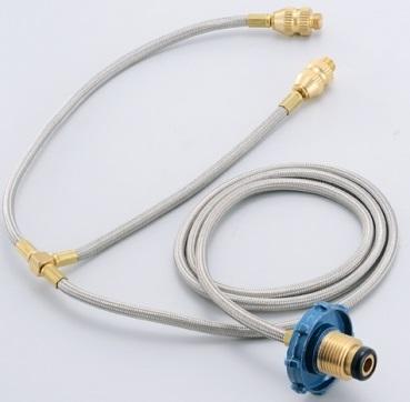 《台南悠活運動家》Wen Liang 台灣 瓦斯桶雙孔轉接器 ST-2003