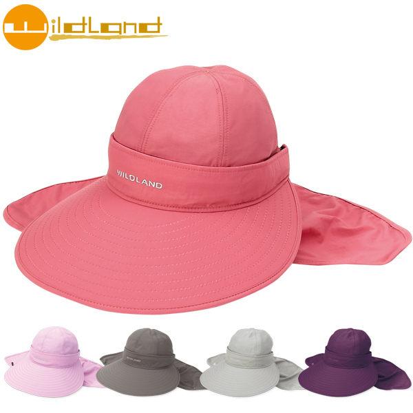 《台南悠活運動家》 WILDLAND 台灣 中性抗UV可脫式遮陽帽 W1006