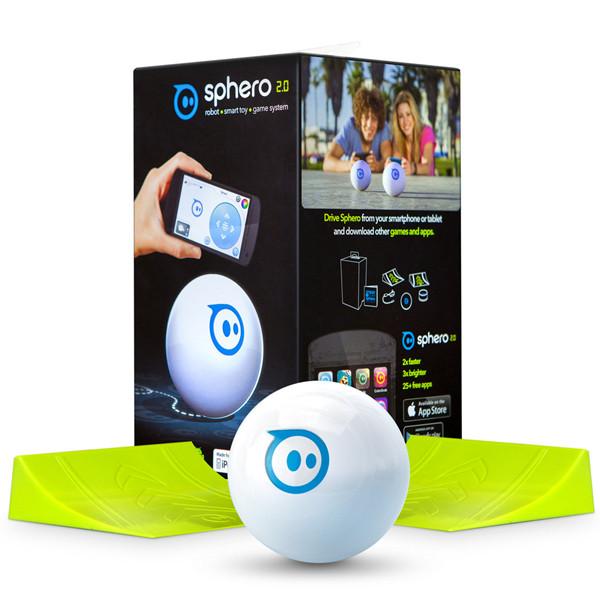 ★預購!!Sphero 2.0 智能機器人球(白) /藍芽無線遙控球