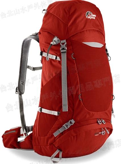 [ Lowe Alpine ] AirZone Trek + 35:45 男 透氣網架後背包/登山背包/單車包 FTD49 墨西哥紅