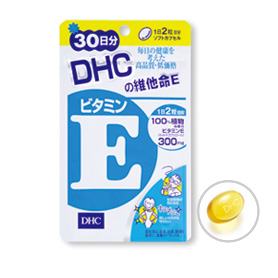 DHC維他命E(30日份) 30日份(60粒) 素晴館