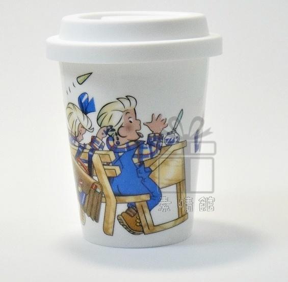 Les Triples 法國三寶貝 雙層陶瓷杯(附杯蓋) 素晴館