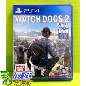 (現金價) 初回版 PS4 看門狗 2 Watch Dogs 2 亞版中文版 含載卡+蘑菇頭