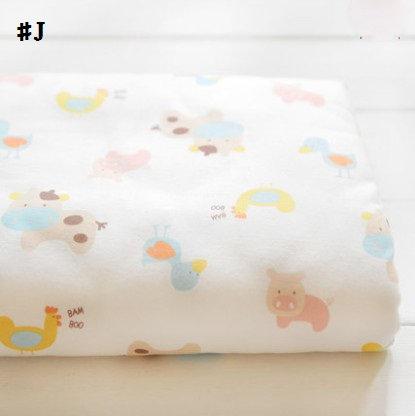 嬰兒【精梳棉】床包。嬰兒床單。嬰兒床罩-J-MOMO農場