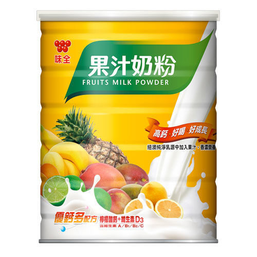 味全果汁奶粉 1000g