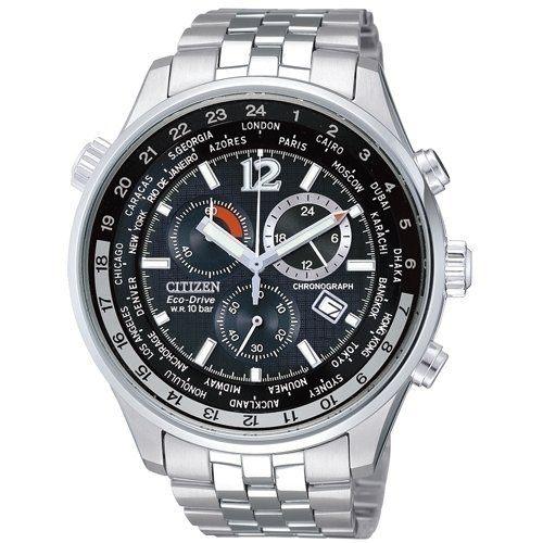 CITIZEN 星辰AT0360-50E 超值光動能套錶/黑面42mm