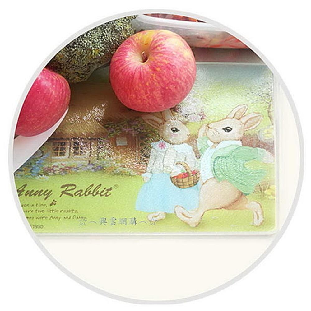 ☆︵興雲網購︵☆【2001】安妮兔強化玻璃砧板-鄉村20*30CM 可愛造型砧板廚房器具好幫手*