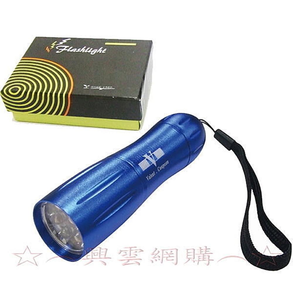 ☆︵興雲網購︵☆【4300】曲線型LED燈手電筒-9燈 超白光手電筒生活中用品 超特價中唷*