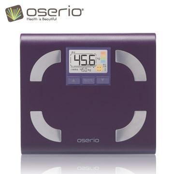 點數5倍送!【oserio歐瑟若】內臟脂肪機 多功能體脂計 FFP-330D(紫蘿蘭)