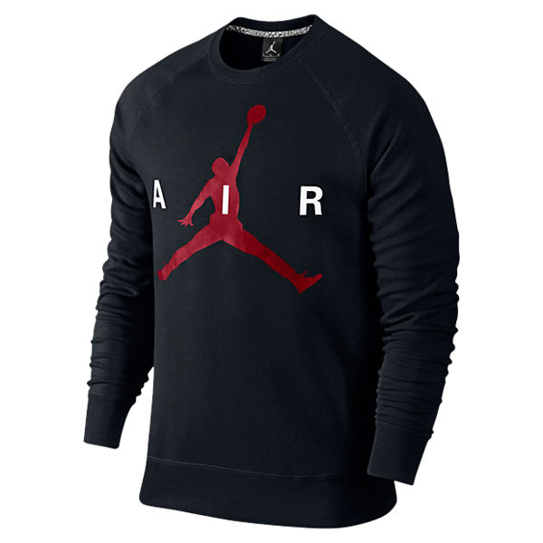 NIKE Jordan Jumpman Graphic Brushed Crew 喬丹 飛人LOGO 大學t 衛衣 長袖 696185-010