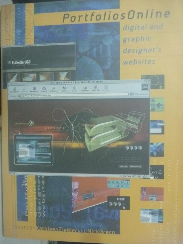 【書寶二手書T2/設計_ZEA】Portfolios online : digital and graphic desi